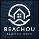 Beach Home Wave Logo - GraphicRiver Item for Sale