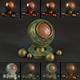 15 Bronze Material Shaders for Cinema4d Octane Render - 3DOcean Item for Sale