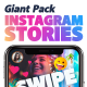 Instagram Stories Giant Pack - VideoHive Item for Sale