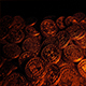 Candle Light On Gold Coins Pirate Treasure - VideoHive Item for Sale