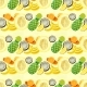 Hand Drawn Seamless Pattern. Summer Background - GraphicRiver Item for Sale