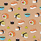 Sushi seamless pattern - GraphicRiver Item for Sale