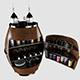 Vodka Bar cabinet 3D model - 3DOcean Item for Sale