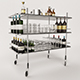 Vodka Wheelchair 3D model - 3DOcean Item for Sale