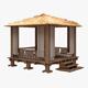 Kiosk (FUR) - 3DOcean Item for Sale