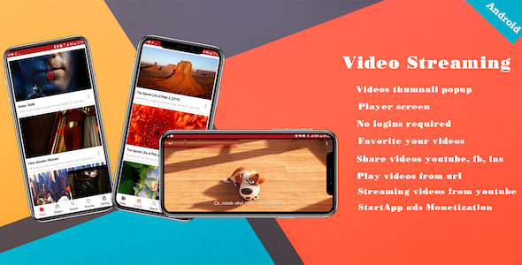 Make A Movie Streaming App With Mobile App Templates