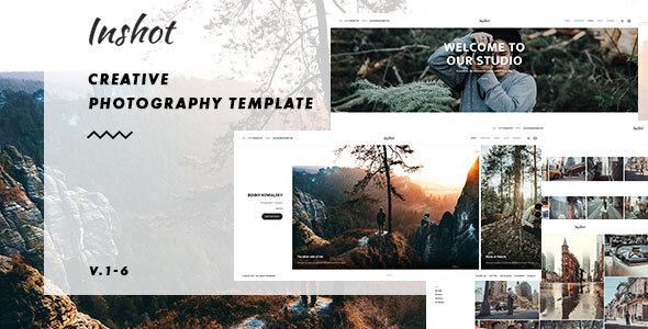 Inshot – Creative Responsive Photography  Portfolio