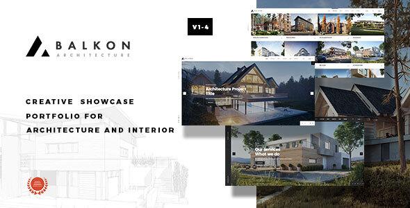 Balkon – Creative  Responsive  Architecture Template