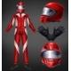 Auto Race Driver Protective Suit Realistic Vector - GraphicRiver Item for Sale