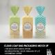 Clear Loaf Bag Packaging Mockup - GraphicRiver Item for Sale