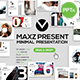 Maxz Minimal Powerpoint Templates - GraphicRiver Item for Sale