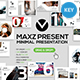 Maxz Minimal Keynote Templates - GraphicRiver Item for Sale