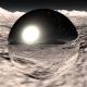 360 HDRI panorama of Mercury planet. Mercury landscape, environment map. Equirectangular projection - 3DOcean Item for Sale