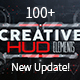 Creative HUD Elements - VideoHive Item for Sale