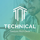 Technical Analysis Pitch Deck Keynote Template - GraphicRiver Item for Sale