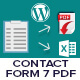 WordPress Contact Form 7 PDF, Google Sheet & Database - CodeCanyon Item for Sale