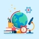 Education Internet Studying Distance Education - GraphicRiver Item for Sale