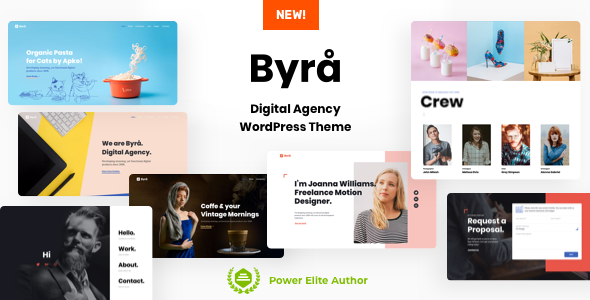 Byra - Portfolio Freelancer