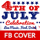 4th of July Facebook Cover-2 Design- Image Included - GraphicRiver Item for Sale