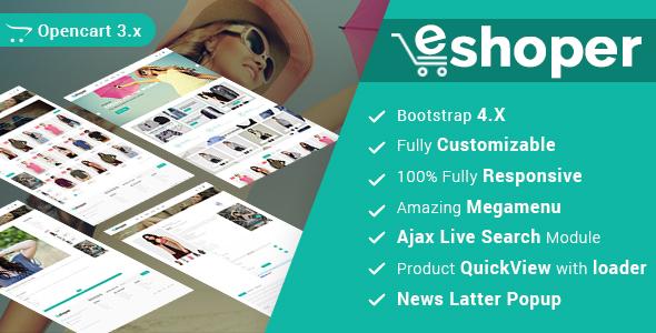 Eshoper - Multipurpose Opencart Theme