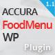 Accura FoodMenu WP - Modern Restaurant Food Menu - CodeCanyon Item for Sale