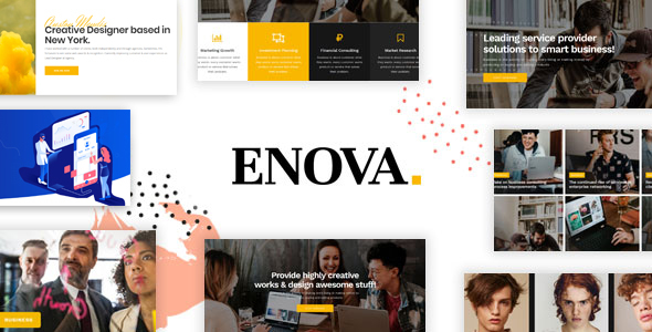 Enova - Multipurpose Business WordPress Theme
