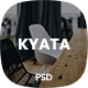 Kyata | One Page Parallax PSD Template - ThemeForest Item for Sale