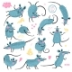 Set of Rats for Design - GraphicRiver Item for Sale