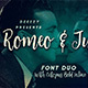 Romeo & Juliet Font Duo - GraphicRiver Item for Sale