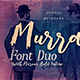 Murray Script Font Duo - GraphicRiver Item for Sale