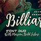 Billiard Font Duo - GraphicRiver Item for Sale