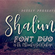 Shalimar Font Duo - GraphicRiver Item for Sale