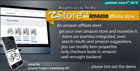 zStore - an amazon affiliate Store