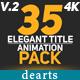 35 Elegant Title Animation