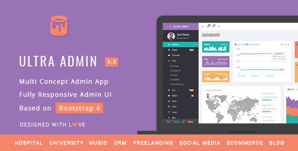 UI Templates from ThemeForest