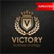 Victory - Heraldic Elegant Logo Crest Multipurpose Logo - GraphicRiver Item for Sale