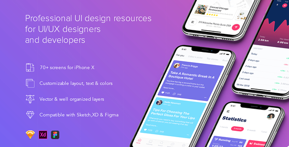 App UI Templates from ThemeForest