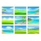 Set of Summer Landscapes - GraphicRiver Item for Sale