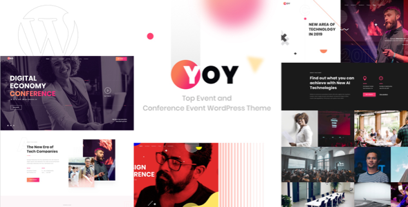 YOY – Event & Conference WordPress Free Download