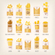 Different Kinds of Pasta - GraphicRiver Item for Sale