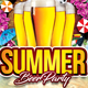 Summer Beer Party - GraphicRiver Item for Sale