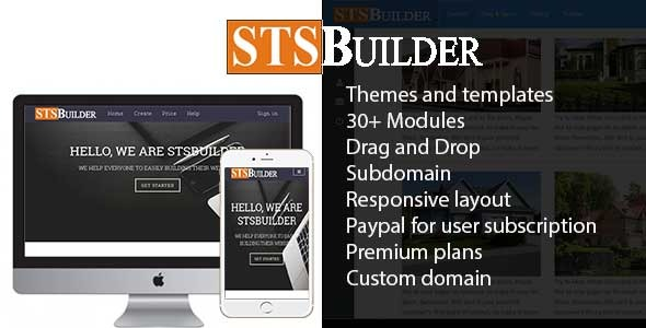 Drag And Drop Page Builder PHP Scripts from CodeCanyon