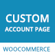 WooCommerce My Account Page Plugin, Edit & Customize Account Page - CodeCanyon Item for Sale