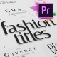 Just Type   Fashion Titles For Premiere Pro MOGRT - VideoHive Item for Sale