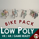 Low Poly Bike Pack - 3DOcean Item for Sale