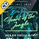 Neon Jungle Flyer - GraphicRiver Item for Sale