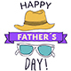 Father´s Day Badges & Lower Thirds - VideoHive Item for Sale