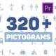 Pictogram Icons for Premiere - VideoHive Item for Sale