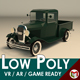 Low Poly Vintage Pickup 04 - 3DOcean Item for Sale
