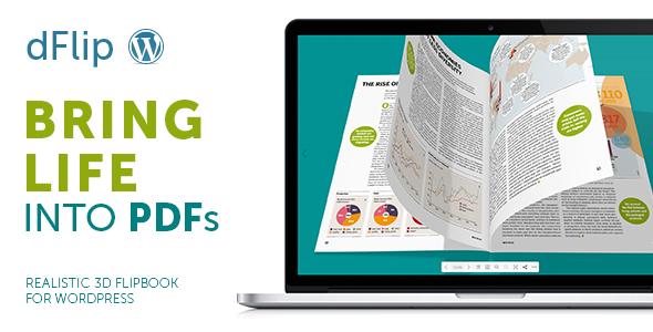 dFlip PDF FlipBook WordPress Plugin 3